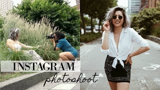 BEHIND THE SCENES: Instagram Photoshoot Vlog