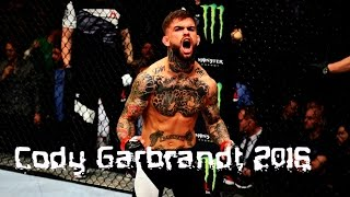"Cody ""No Love"" Garbrandt Highlights 2017"