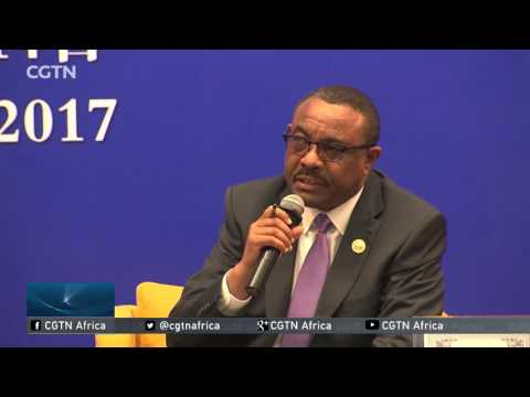 Belt & Road Forum: Ethiopia's Desalegn Meets Chinese Business Students