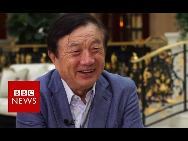Huawei founder: 'America doesn't represent the world' - BBC News