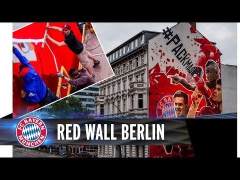 FC Bayern StreetArt in Berlin