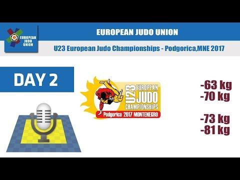 U23 European Judo Championships - Podgorica 2017 - Day 2