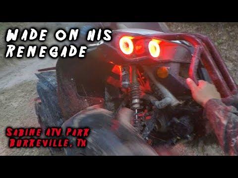 Wade On His Renegade At Sabine ATV Park