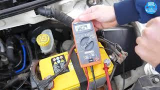 Come misurare una dispersione di corrente della batteria Auto