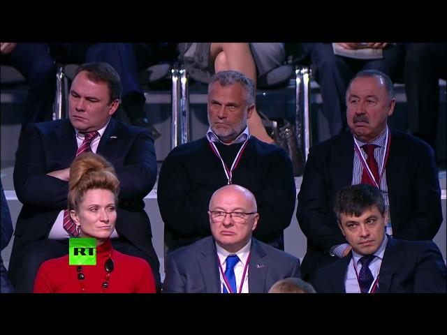 Владимир Путин на заседании Форума действий ОНФ