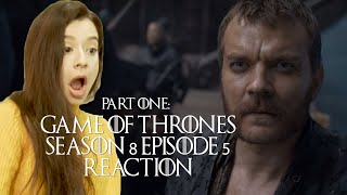 PART 1: Game of Thrones Season 8 Episode 5 Reaction and Review