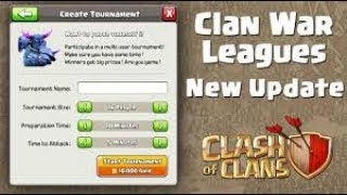 NEW WAR LEAGUES COMING TO CLASH OF CLANS! - NEW UPDATE INFORMATION HERE 2018 | BY GAMING TARUN 😍