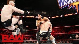 Cesaro & Sheamus vs. Luke Gallows, Karl Anderson, Enzo Amore & Big Cass: Raw, March 20, 2017