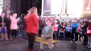 Times Square Proposal Fail