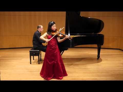 [Yoonah Park] J.C. Bach Viola Concerto in C minor 1st Movement