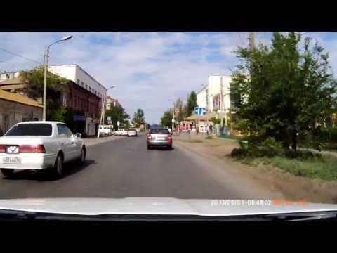 ДТП Астрахань ул. Бакинская/ул. Кирова 01.06.2013.