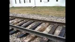 A Peanut Sat on a Railroad Track
