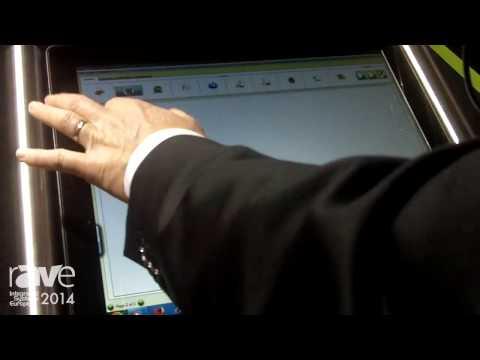 ISE 2014: Display Media Demos Powerful Digital Signage Software