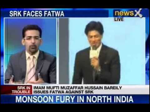 NewsX: Imam issues Fatwa against Shah Rukh Khan