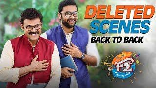 F2 Back to Back Deleted Comedy Scenes - Venkatesh, Varun Tej, Tamannah, Mehreen