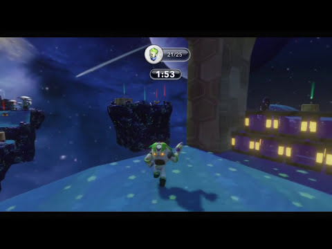 Disney Infinity - Buzz Lightyear, Save Me! - Gold Medal (3 Star) Challenge - Gameplay Walkthrough