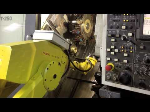 Robot Loading Machining Centre