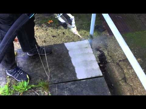 Dry Ice Blasting - Mess-Free Paving Cleaning
