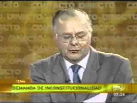 05:11 - Jorge Zavala Egas, Demanda de Inconstitucionalidad