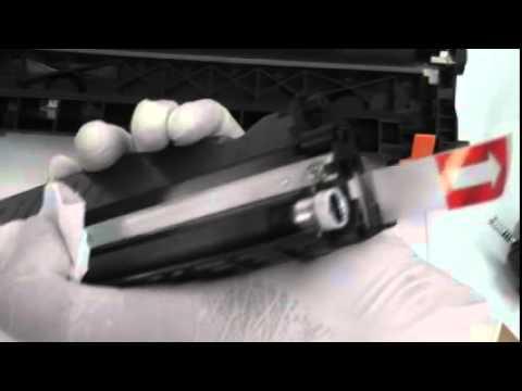 วิธีการเติมหมึก ตลับ Hp283a/ Canon 337 โดย คอมพิวท์