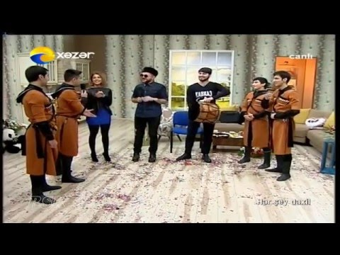 Dikiy Kavkaz Lezginka Dance Ensemble-xəzər Tv 2015 video