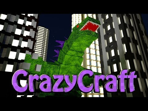 Minecraft | CrazyCraft - OreSpawn Modded Survival Ep 97 -