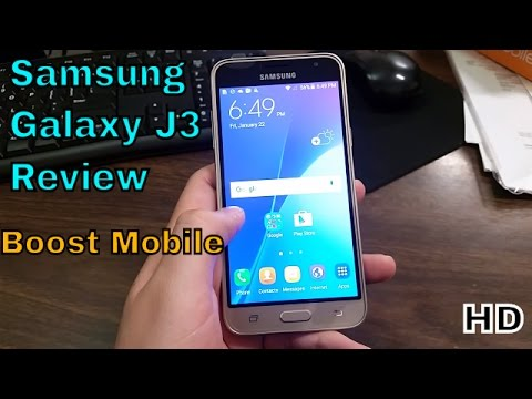 Samsung Galaxy J3 Full Review (Boost Mobile) HD