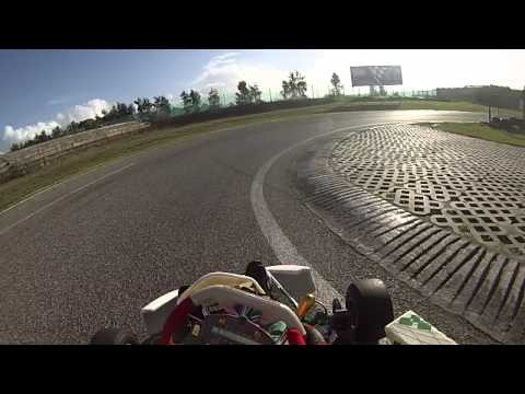Kart onboard Bombarral 125 shifter and garage time lapse