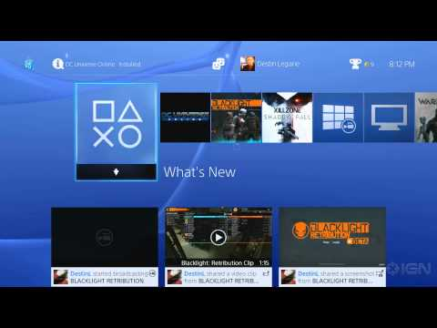 PS4: Live Dashboard Demo / Twitch Broadcast