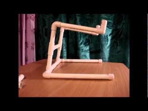 STAND PARA LAPTOP- CON TUBO DE PVC... BY wARNER eIS !!.wmv