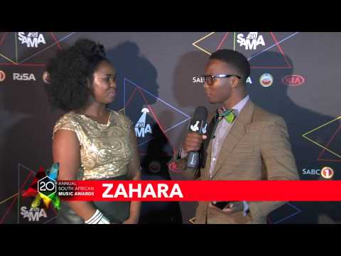 Sama20 Nominee Announcement Celebration - Interview With Zahara video