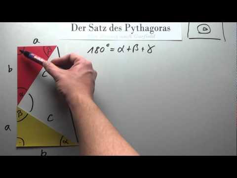 Pythagoras Beweis Garfield Beweis 2 Nach Garfield