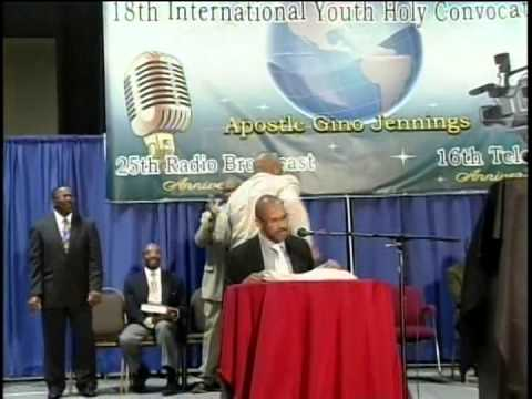 Pastor Gino Jennings Truth of God Broadcast 984-986 Memphis Tennessee Part 2 of 2 Raw Footage!