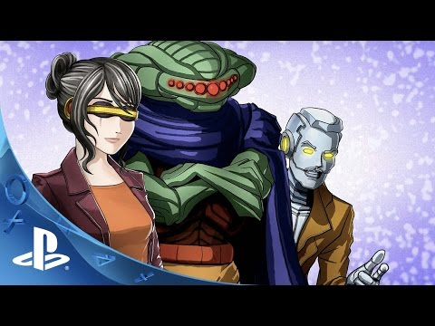 Cosmic Star Heroine – E3 2016 Trailer | PS4, PS Vita