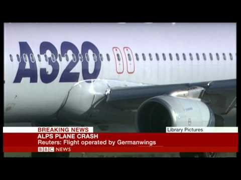 Germanwings Flight 4U9525 plane crash in France   BBC News