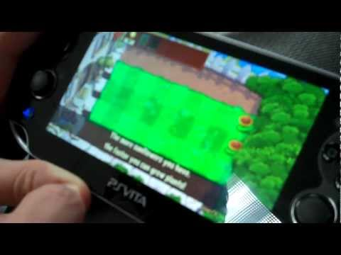 Plants vs. Zombies! on the PS Vita with M4d Ski11z!