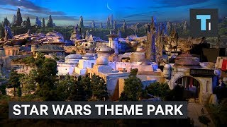 Disney​ revealed what Star Wars​ Land will look like