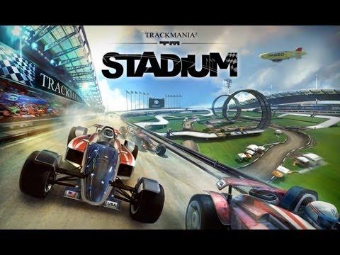 Trackmania STADIUM : Vitesse Technique Précision | Gameplay Découverte