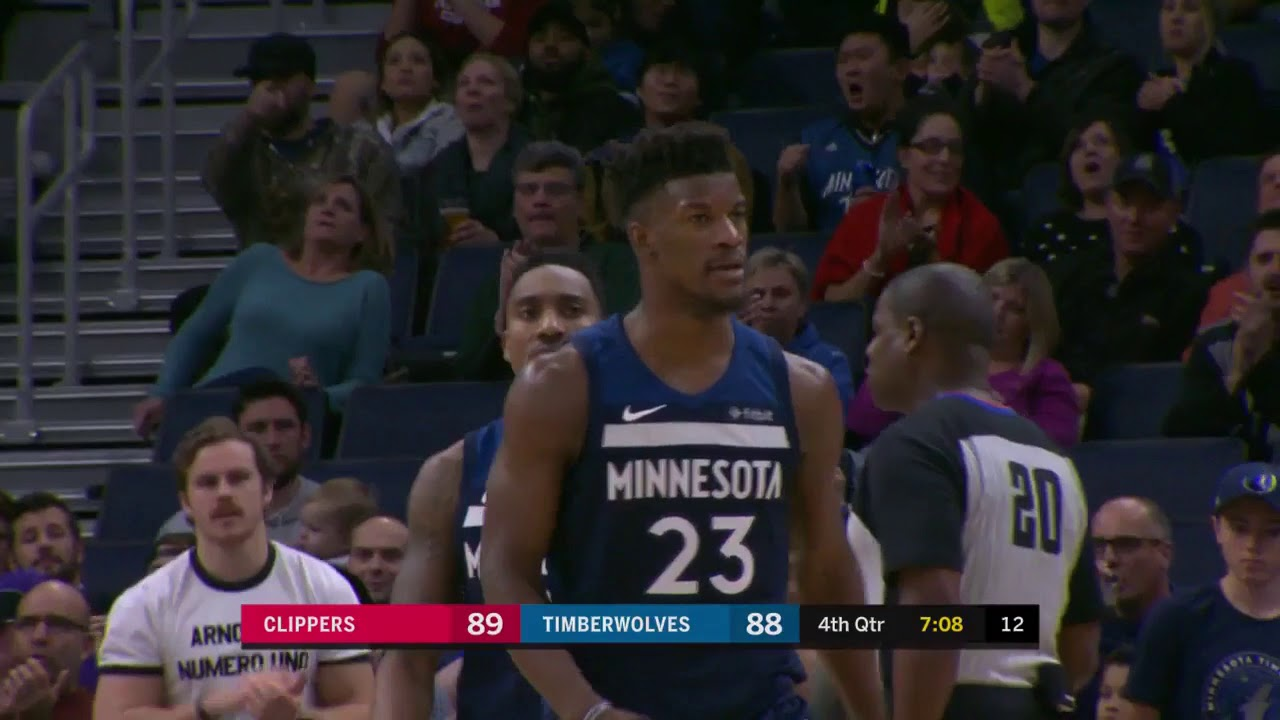 Wolves' Jimmy Butler Drops 33 points in Win Over Clippers