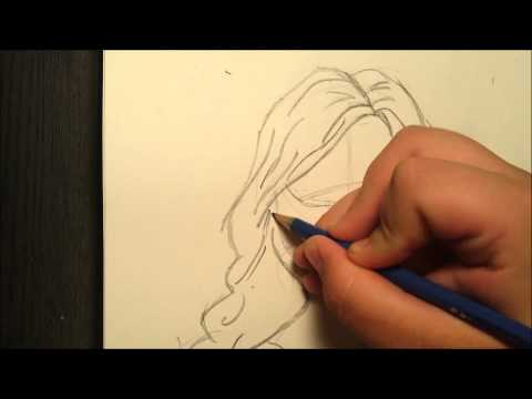 How To Draw A Simple Girl video