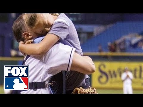 Military Father Surprises Daughter, Reunited at Rays game