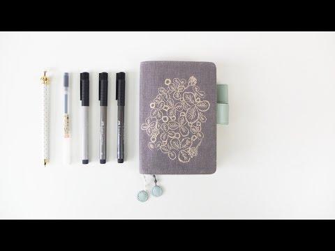 Favorite Art Supplies || Hobonichi Art Journal