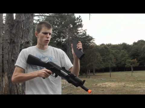 CyberGun/CYMA AK47 Beta Spetsnaz Airsoft Gun Review