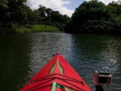 Travel Vanuatu: Ecotours kayak adventure