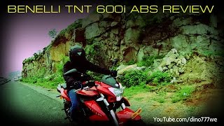 Benelli TNT 600i ABS 2016 First Ride Review, Walkaround #Bikes@Dinos