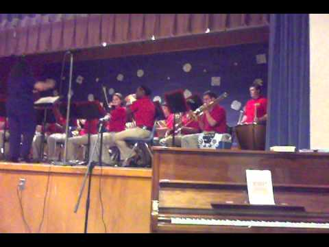 Norphlet High School Band at the month of music concert