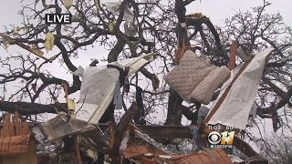 Tolar Residents Start Cleaning Up After Tornado