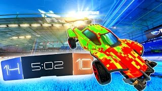 """Rocket League """"King of the Hill"""" Game"""