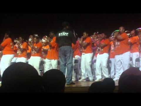 FAMU Band Camp  2011 - Tribute to Bob Marley