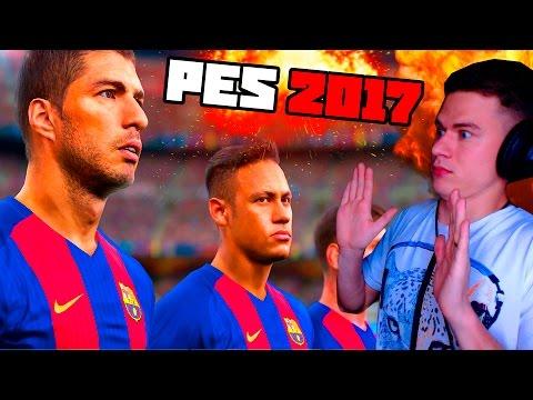 ПЕРВЫЙ РАЗ ИГРАЮ в PES 2017 | Pro Evolution Soccer 17